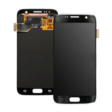 GENUINE LCD Display Screen Digitizer Assembly Black Samsung Galaxy S7 SM-G930
