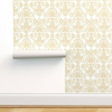 Peel-and-Stick Removable Wallpaper Floral Damask Sweet Lace Cutout