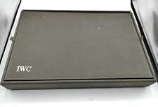 IWC portaorologi watch case leather pelle original very rare