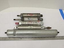 Bimba Pneumatic Cylinder Lot of 4 and Door Operator