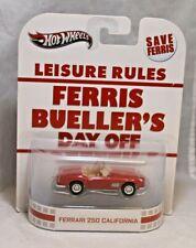 Hot Wheels Retro Entertainment 1/64 Ferris Bueller's Day Off Ferrari 250 Cali