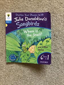 oxford reading tree Stage 3 (6-1 Stories) Julia Donaldson's Songbirds