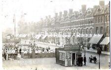 More details for rp brixton rd postcard booth market stalls morley + langley london sw9 superb!
