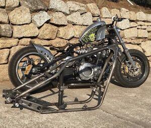 Thug Chopper Frame, Chop Chopper Bobber Streetbike Streetfighter Hardtail Custom