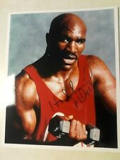 EVANDER HOLYFIELD autographed 8x10 photo boxing