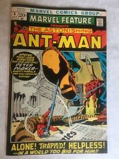 Marvel Feature #4 VF+ OW/W 8.5 Ant-Man Glossy BLACK Picture Frame Cover Trimpe