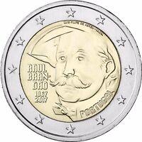 Portugal 2 Euro 2017 Raul Brandao Gedenkmünze bankfrisch