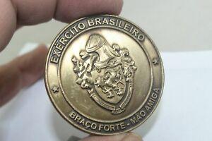 Exercito Brasileiro Braco Forte Mao Amiga Challenge Coin