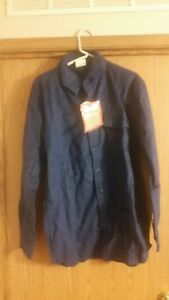 IDEAL Cotton Chamois Men's Shirt - Size L - New With Tags - Vintage 80's