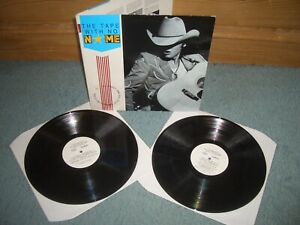 JOHN PRINE/k.d. lang etc THE TAPE WITH NO NAME 2XLP RADIO PROMO  NME STEREO LP