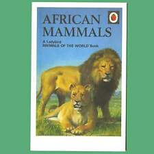 Postcard - African Mammals - A Ladybird Animals Of The World Book Cover Postcard
