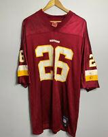 Reebok Mens Washington Redskins NFL Portis #26 VTG Football Jersey L