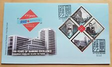 2013 Malaysia 100 Years RHB Banking Excellence B4 Stamps on FDC (Melaka Cachet)