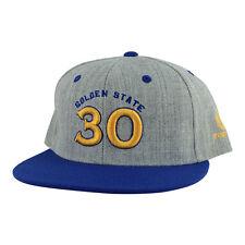 Golden State Stephen Curry  30 2 Tone Snapback Sombrero Gorra-Gris Oscuro  Oro Azul 0fc0f0b8453