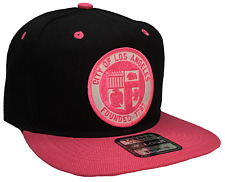 City Of Los Angeles Founded1781Hat Color Black Pink Snapback Adjustable New Hat