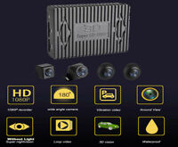 HD 1080P 360° Bird View Panoramic System with 4 Night Vision Cameras For Car SUV