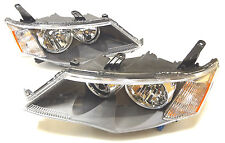 MITSUBISHI Outlander 2006-2009 front head lamps lights for Europe model Pair