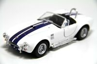 "Brand New 5"" Kinsmart 1965 Shelby Cobra 427 S/C Diecast Model Toy Car 1:32 White"