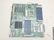 Intel S5520HC 5500 Chipset Dual Socket LGA1366 ATX Server Motherboard + I/O shie