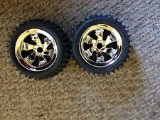 Radioshack Nomad R/C Rear Wheels With Tires New