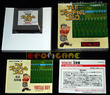 T&E VIRTUAL GOLF Nintendo Virtual Boy Versione Giapponese ○○○○○ COMPLETO