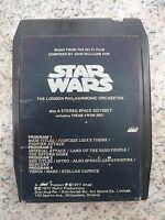 Vintage STAR WARS 8 TRACK Tape CARTRIDGE 1977 ORIGINAL SOUNDTRACK Philharmonic