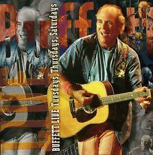 Jimmy Buffett - Live: Tuesday/Thursday/Saturday [New CD]