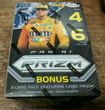 (2) 2018 Panini Prizm Racing NASCAR Trading Cards Factory Blaster Boxes