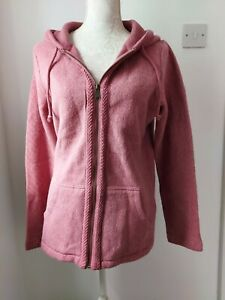 Fat Face 🌸 Coral Pink Hoodie 🌸 Size 10 🌸 NEW