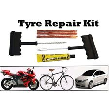 1 Set Tyre Puncture Repair Kit .Easy DIY for Car and Motorcycle tubeless