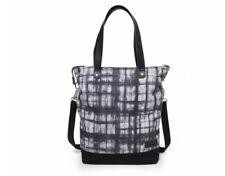 Eastpak Soukie Superb shopping shoulder laptop bag black and grey cotton NEW