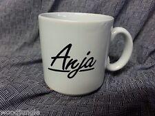 RARE FASHION ROYALTY CAPTIVATING ANJA DOLL COFFEE CUP ENGLAND