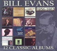BILL EVANS 12 CLASSIC ALBUMS 1956-1962 6 CD NEW