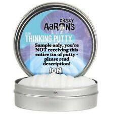 Crazy Aaron's Thinking Putty Ion Glow in The Dark 4 Inch Tin