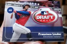 Francisco Lindor 2020 TOPPS SERIES 2 2011 DRAFT DAY MEDALLION INDIANS