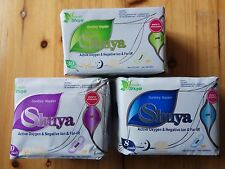 3 Bags Shuya Organic Cotton Anion Sanitary Napkin Day Use+Nigh Use+Panty Liners