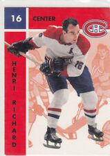 1995-96 Parkhurst  ''66-67''  #58 Henri RICHARD - Montreal Canadiens