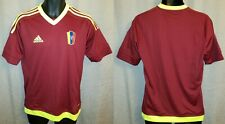 Venezuela National Team Adidas Home Soccer Jersey 2014 Nwt - Youth Xl Womens M/L