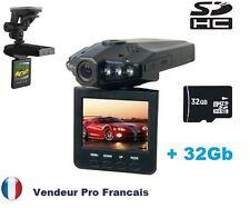 """Caméra Sport Embarquée  2.5"""" VISION NOCTURNE 6 LED  VOITURE AUTO CAR 32 Gb"""