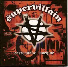 SUPERVILLIAN - Earthquake Machine (CD 2005)