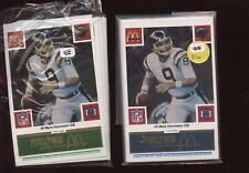 1986 McDonalds Footbal Sets San Diego Chargers (2) NRMT