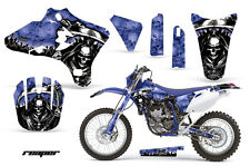 Dirt Bike Graphics Kit Decal Wrap For Yamaha WR250 WR450F 2005-2006 REAPER BLUE