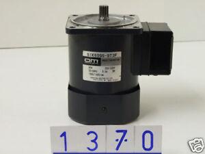 Oriental Motor 51K60GS-ST3F Induction Motor (1370)