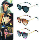 popular lady Sunglasses Round Glass Retro Plastic Frame Arrow Glasses Eyewear et