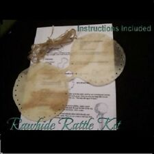 * Traditional Native Style Rawhide Dance or Ceremony Rattle Kit You Make It