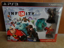 New in Sealed Box PS3 Disney Infinity Starter Pack Incredibles Monsters, Inc.