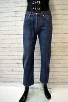 Jeans LACOSTE Uomo Taglia Size 40 Pantalone Pants Cotone Regular Blu Hose