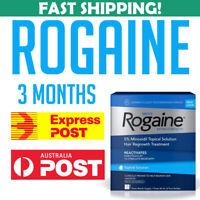 Rogaine Regaine Extra Strength 3 Month Minoxidil 5% Hair growth AU Stock