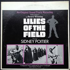 Japan reissue! Jerry Goldsmith LILIES OF THE FIELD soundtrack LP Sidney Poitier