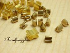 #5 zipper zip top stop stopper and bottom stop copper golden 50 sets i51